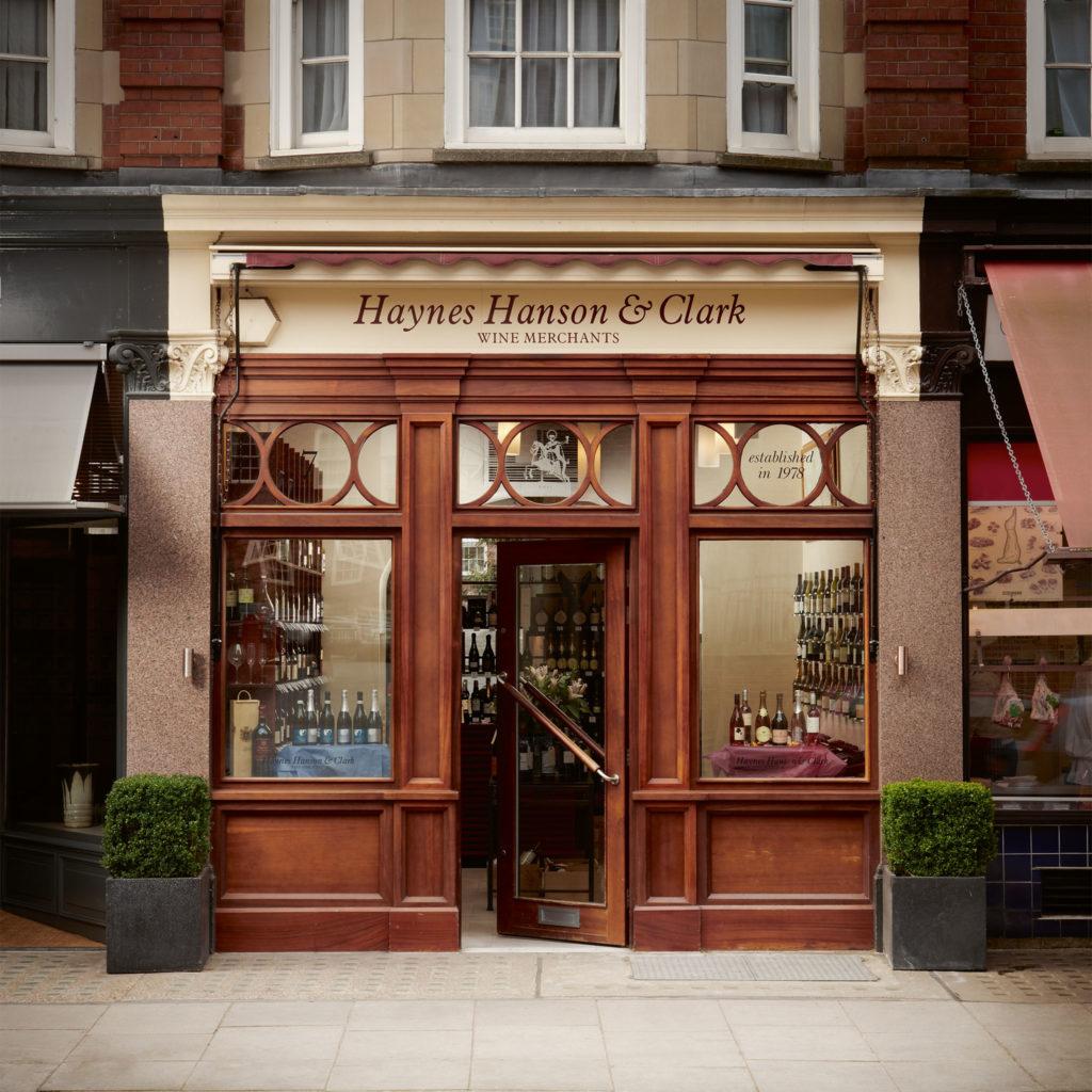 Haynes Hanson & Clark - Elystan Street Shop Front